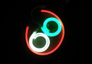 China 240V Slim Ultra Thin Colored Jacket LED Neon Flex Vivid And ProNeon For 15 x 27MM on sale