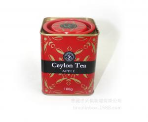 China Food Grade Empty Round Coffee Can , Coffee Tin Box / Container For Tea , Coffee on sale