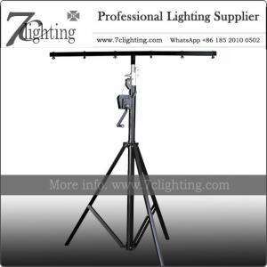 China Stage Lighting Equipments 3 Meter Winch Lighting Stand DJ Production on sale