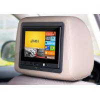 wifi 3G bluetooth Android 4.2 OS with RAM 2G ROM 8GB car ads video player with removable headrest