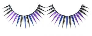 China Handmade Colored Fake Eyelashes Professional For Cosmetics Company on sale