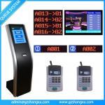 Sistema de gestión inalámbrico de la cola de las actividades bancarias en Internet de Unicode