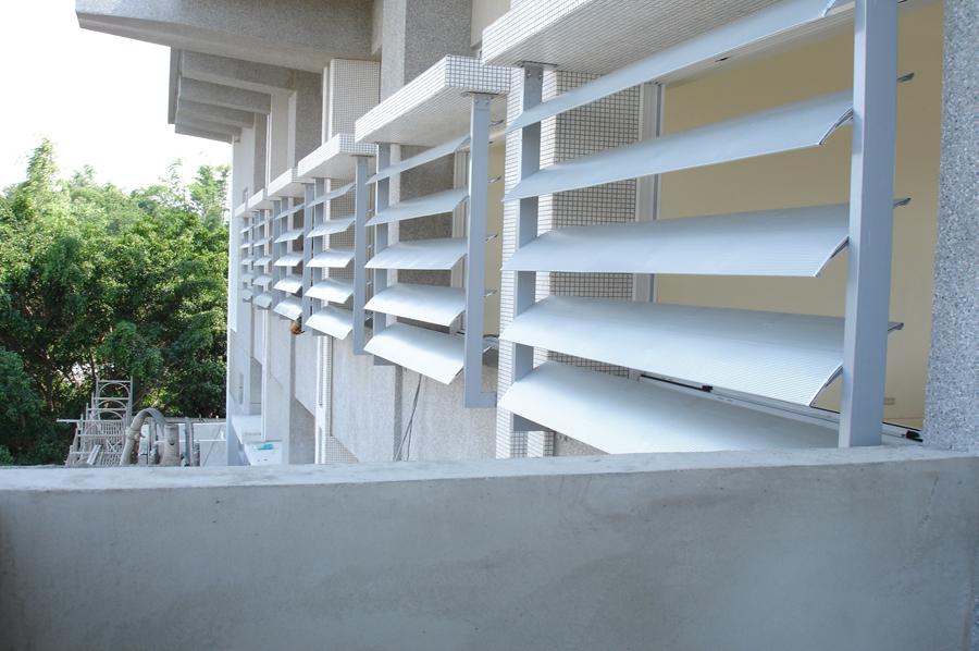 aerowing louver shading aluminium brise soleil for building ec90041249. Black Bedroom Furniture Sets. Home Design Ideas