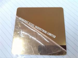 China Hairline Finish Cold Rolled Stainless Steel Sheet Decorative ASTM Standard on sale