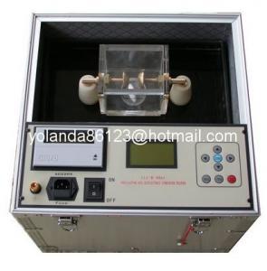 China Series IIJ-II 60KV BDV Insulating oil dielectric strength tester on sale