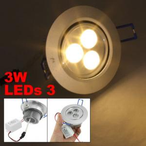 China Outdoor 3 watt Warm White color led ceiling light fixture, led DownLight 3000K for home on sale