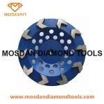 5 Inch Diamond Arrow Seg Cup Wheel for Edge  Concrete Grinding
