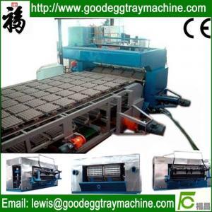 China waste paper pulp egg tray/box making machinery on sale