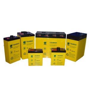China Champion 2V150AH GEL battery 2V450AH 2V600AH Solar battery Lead Acid battery manufacture on sale