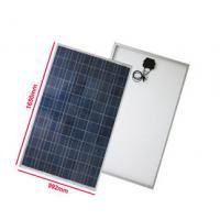 Flat Roof Polycrystalline Solar Module Anti Aging EVA High Light Transmittance
