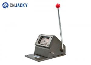 China High Grade Manual Plastic Card Punching Machine Playing Business PVC Card Die Cutter on sale