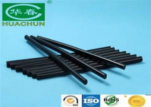 China EVA Based black hot melt glue sticks 7.2mm for Packaging Electronic Toys on sale
