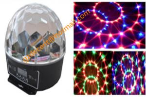 China Pattern Effect LED Crystal Magic Ball  Disco DJ Lighting Stage Lighting on sale