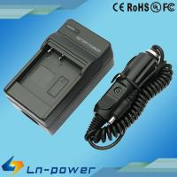 Digital Camera Battery travel Charger For Canon NB-4L NB4L, with car charger
