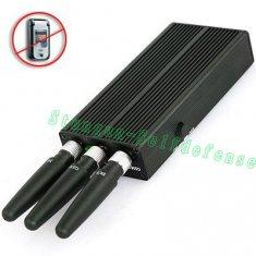 Quality 808HF2 Protable mobile cell phone GSM+2.4G bluetooth/WIFI signal jammer for sale