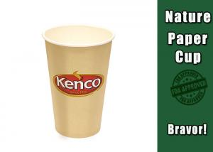 China Eco Friendly 16 Oz Vending Paper Cups No Smell PE Coating Paper Material on sale