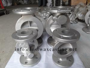 China Silica Sol Investment Casting Stainless Steel valve parts on sale