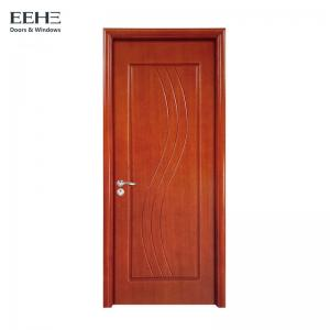 China High Strength Hollow Core Timber Door With Particle Board Leaf Color Optional on sale