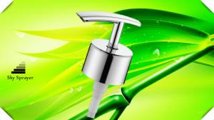China Chrome 2ml/t Bathroom Soap Dispensers Stainless Steel Shower gel Foam Dispenser Pump on sale