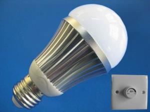 China White B22 E26 5 Watt Dimmable LED Lighting Bulb Fixture 2700 - 8500k for Exhibition stands on sale