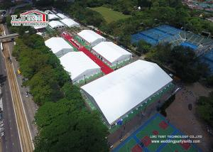 China Aluminum Frame Trade Show Display Tents Waterproof Flame Retardant PVC Structure on sale