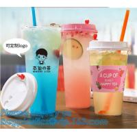 China PLA plastic cup PET plastic cup PP plastic cup PS top snack cup Straw,Food takeout plastic box Salad plastic bowl Pulp f on sale