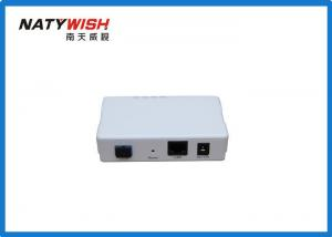 China 1.25G GEPON ONU Equipped With One GEPON Port Four 10 / 100 / 1000Mbps RJ45 LAN Ports on sale