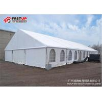Fashion Custom Made Wedding Marquee Tent With PVC Fabric Roof Sidewall