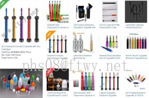 China Electronic Cigarettes, E-Cigarettes, E-Cigars on sale