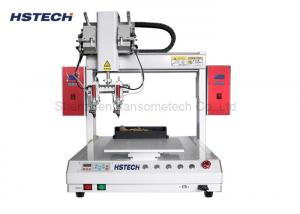 China Dual Soldering Head 400mm Moving Range Timing Belt Auto Soldering Machine/Robot on sale