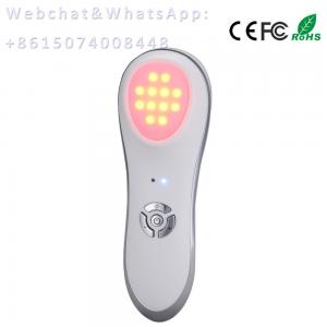 China skin beauty, acne & scar treatment, Vibration +Photo LED therapy beauty equipment on sale