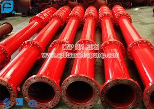 China 2 Stage FM Approved Vertical Turbine Fire Pump Set With Electric Motor Driver on sale