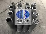 Id80/50x600mm Silicon Carbide Tube RBSiC / SiSiC Burner Nozzles For Tunnel Kiln