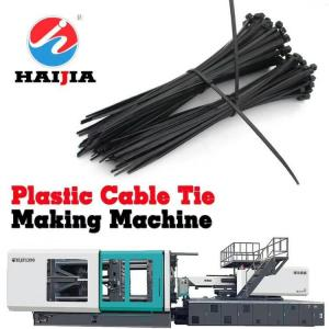 China Nylon Cable Tie Plastic Injection Mold Makers / Injection Mould Tool on sale
