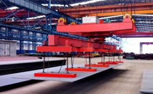 China Electro permanent lifting magnet for lifting steel plate on sale