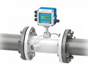 China Transit Time Heat Flow Meter , Fixed Inline Volumetric Digital Flow Meter on sale