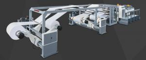 Quality Jumbo Roll Slitter Rewinder , DFJ-1400G Rotary Blade Paper Sheet Slitting for sale