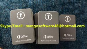 China Lifetime Activation Microsoft Office 2019 Professional Plus Key Card Microsoft Download Link on sale