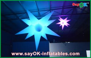 China Indoor Party Decoration Inflatable Led Star Advertising Star Balloon With Led Light on sale