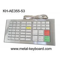 China Mechanical Ruggedized Keyboard , Stainless Steel Panel Keyboard on sale