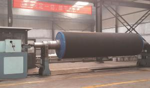China Large diameter rubber roller ( mainly used in press part of paper making industry) on sale