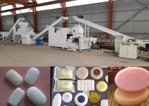 China Small Investment Toilet Soap Production Line In Ethiopia With Mixex And Simplex Refiner on sale