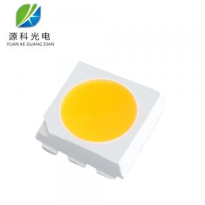 China High Bright SMD 5050 LED Chips Phosphor Mix Yellow Lighting Emitting Diode on sale