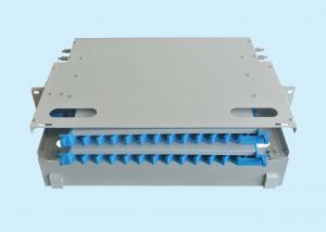 China ODF Unit 24 Core Optical Fiber Distribution Frame / Power Distribution Frame on sale