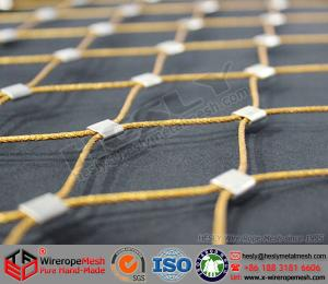 Stainless Steel Wire Rope Mesh, Color coated wire cable mesh for ...