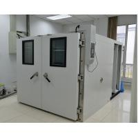 Industrial Large Walk In Temperature Chamber AC 3 Phase Programmable LCD Touch Screen