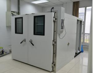 China Industrial Large Walk In Temperature Chamber AC 3 Phase Programmable LCD Touch Screen on sale