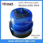 Blue Solar Buoys Beacon Light With Magnet Emergency Instruction Magnetic Solar Lamp Temporary Cordon Light Model ASE-004