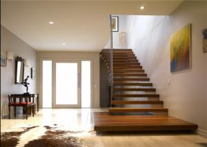 Quality Diy Design Modern Floating Stairs , Fancy Steel And Wood Staircase  Design For Sale ...