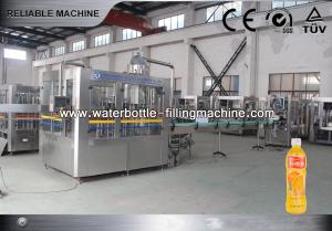 China Stainless Steel 3 in 1 Juice Filling Machine / Equipment For Beverage , Soda on sale